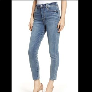 7 FOR ALL MANKIND AUBREY HIGH WAIST ANKLE JEANS